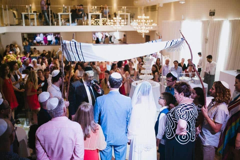 חתונה בלב תל אביב