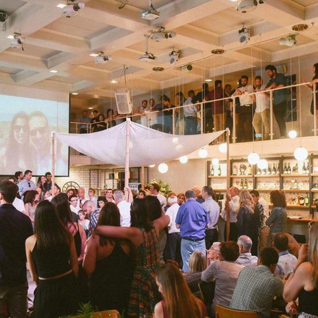 חתונה בגלריה דובנוב בתל אביב