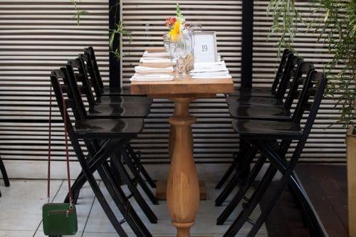 מרכזי שולחן פרחוניים