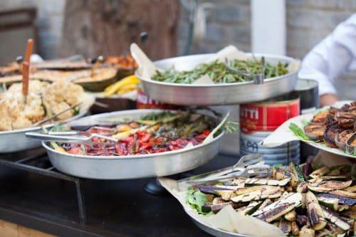 האוכל בחתונה